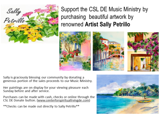 Purchase Artwork by Sally Petrillo Flyer